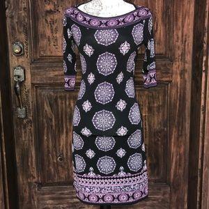 Max Studio Printed Shift Dress